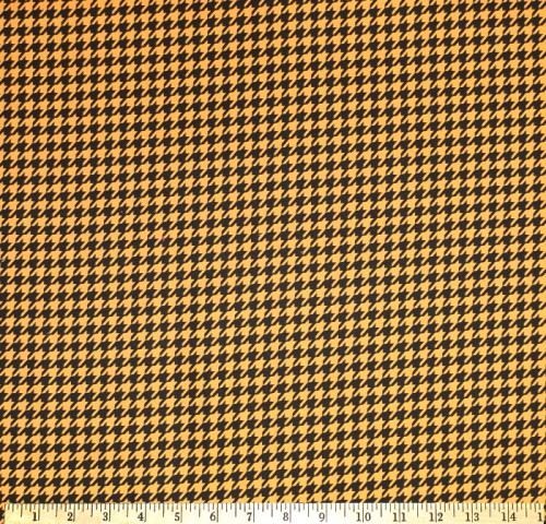 Houndstooth Black & Tan