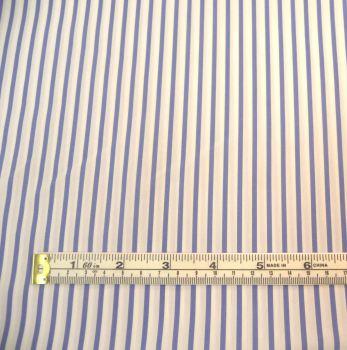 h9760b blue - white stripes 60in cotton