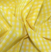 es002pcg-yellow-1-4-check-corded-gingham-dress-fabric-yellow-per-metre