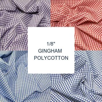 "1/8"" Polycotton Gingham L0007"
