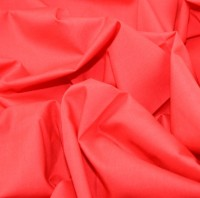 es005-red-plain-polycotton-dress-fabric-red-per-metre
