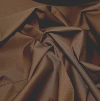es005-brown-plain-polycotton-dress-fabric-brown-per-metre
