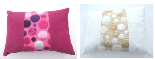 both cushions a