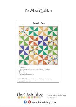 Pin Wheel Quilt Kit