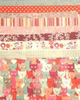 Pinwheel Quilt - Red shades