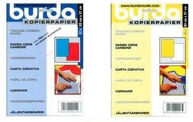 BTPC Burda carbon paper 2 cols
