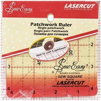 "Sew Easy Quilters Grid 4 1/2"" x 4 1/2"" NL4176"