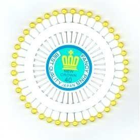 Pinwheel - Gold Headed Pins JTL052