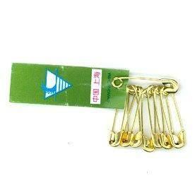 Saftey Pins Brass 50043