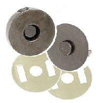 Gunmetal magnetic clasps