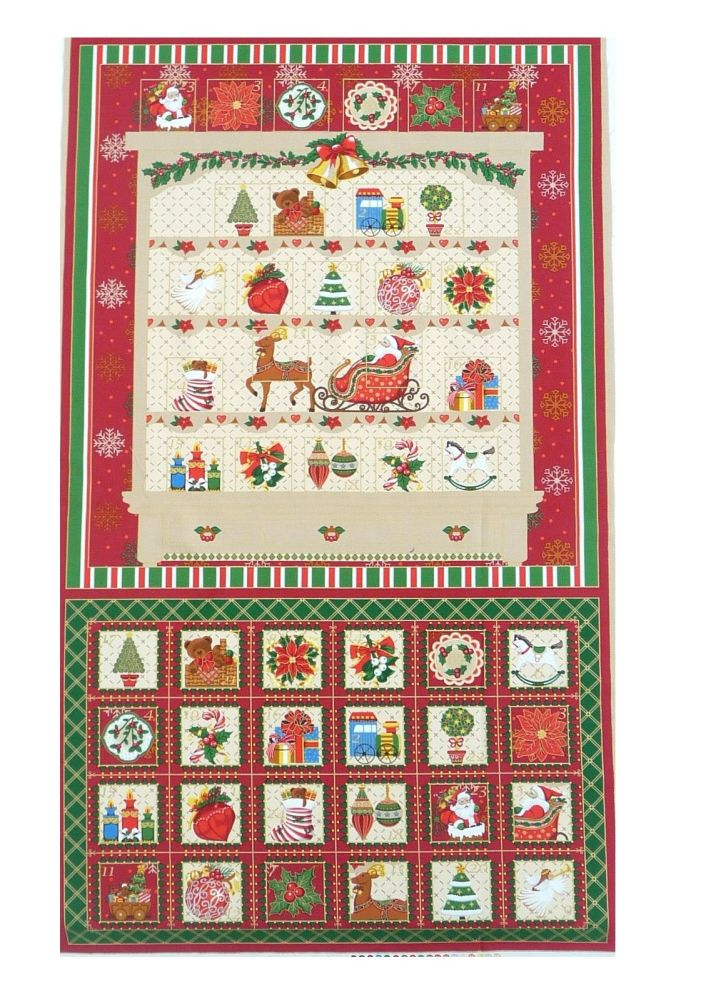 Seasons greetings vintage welsh dresser advent calender 314 02 by vintage welsh dresser christmas advent calendar 31402 m4hsunfo Images