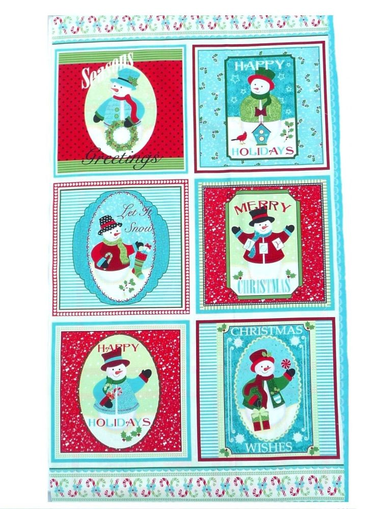 Holiday Cushions Panel 4571