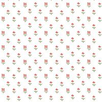 3816-09 Simply Chic - Floret - White