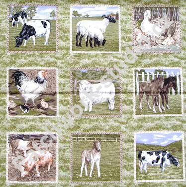 Farm Animals F184