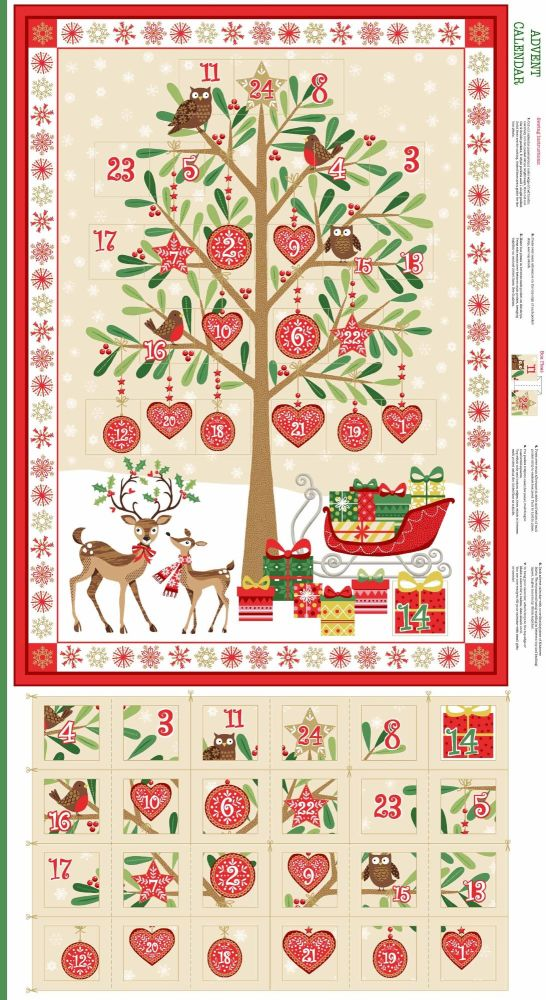 Tree of Hearts Christmas Advent Calendar 1797