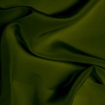 LA0016 Crepe de Chine - Olive Green