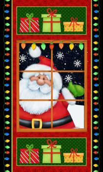 Q6750-98 Jolly 'ole St Nick panel