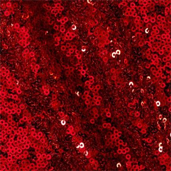 Pin Sequin Fabric - Red L1009-18