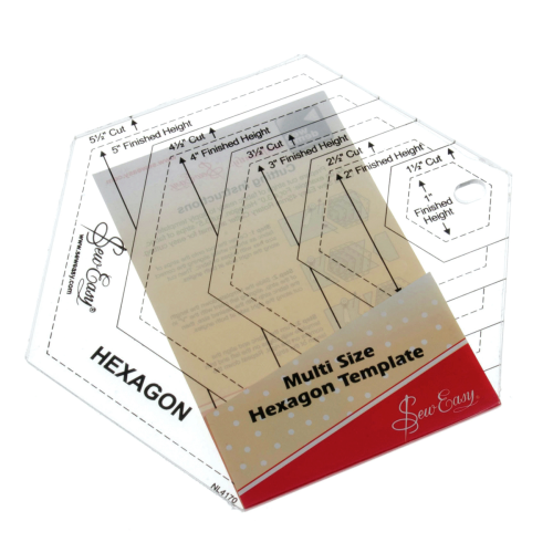 Quilting Hexagon Template  NL4170