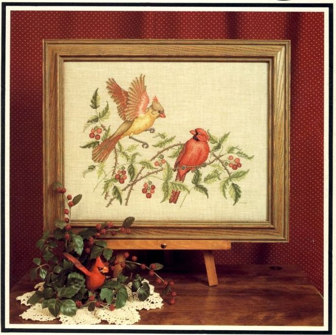 Cross Stitch Charts - Birds