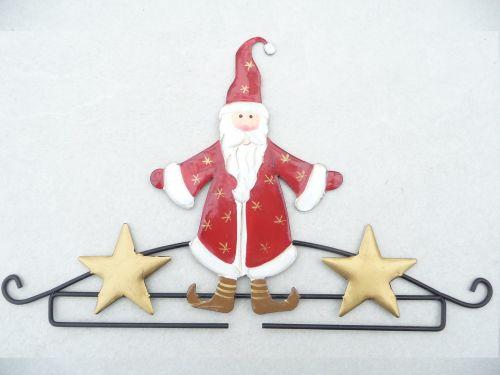 Embroidery/Tapestry Hanger - Santa 20cm 3215.20
