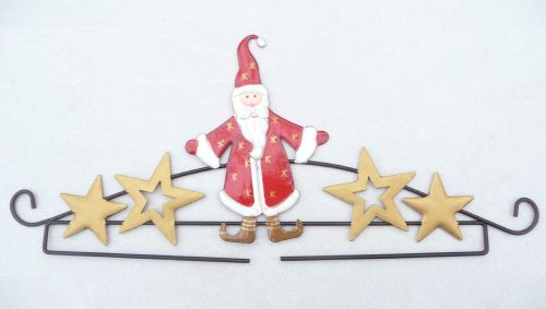 Embroidery/Tapestry Hanger - Santa 31cm 3215.31