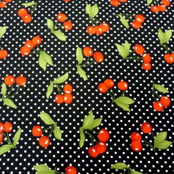 Cherries on Black 116110-04
