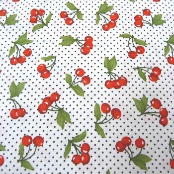 Cherries on White 116110-01