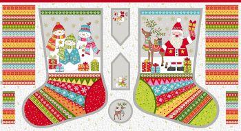 New 2107 Large Festive Christmas Stockings