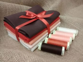Fat Quarter Bundle Browns FQB3
