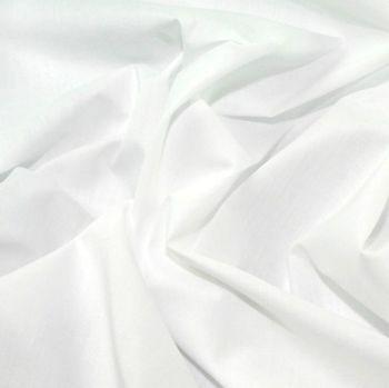 L0006-02 Polycotton White