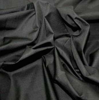 L0008-01  Polycotton Black