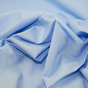L0008-06  Polycotton Pale Blue