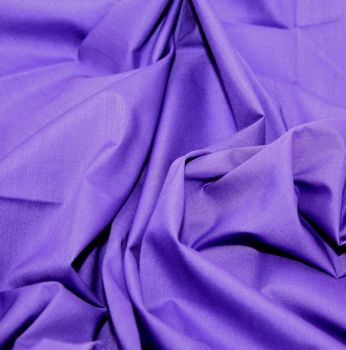 L0008-12  Polycotton Purple