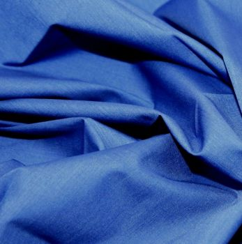 L0008-13  Polycotton Royal Blue
