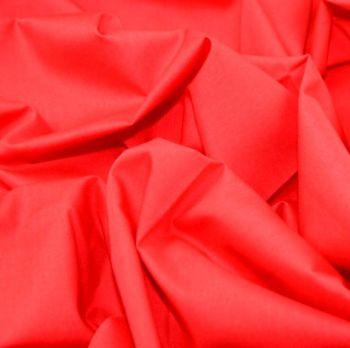L0008-18 Polycotton Red