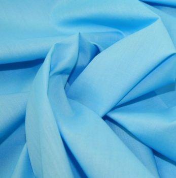 L0008-21 Polycotton Turquoise