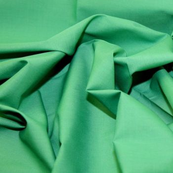 L0008-22 Polycotton Emerald