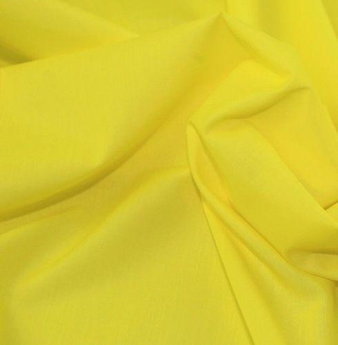 L0008-28 Polycotton Yellow