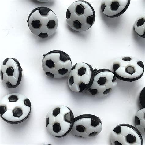 CN20-B Football Buttons - Black & White