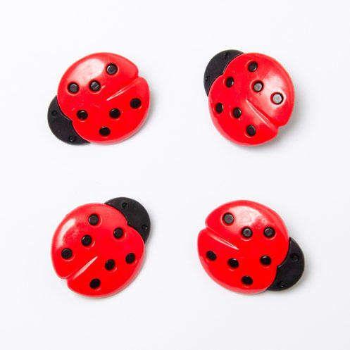 CN16 Ladybird Buttons