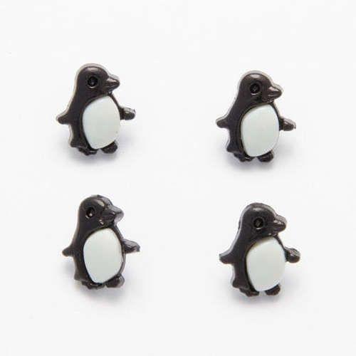 CN21 Penguin Buttons