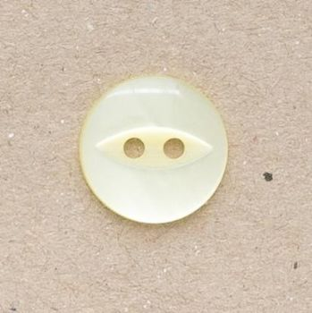 CP16-03-26L Yellow 18mm Fish Eye Buttons x 10