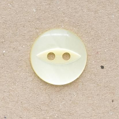 CP16-03 18mm Fish Eye Buttons - Yellow