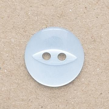 CP16-22-26L Pale Blue 18mm Fish Eye Buttons x 10