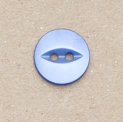 CP16-24 14mm Fish Eye Buttons - Royal Blue