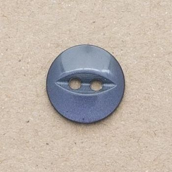 CP16-25-26L Navy 18mm Fish Eye Buttons x 10