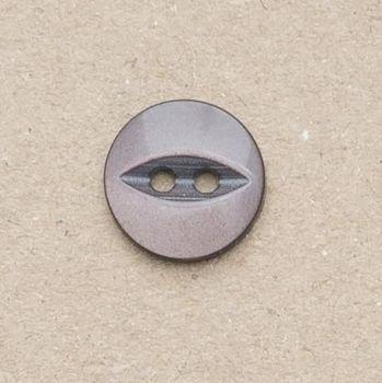 CP16-48-26L Dark Brown 18mm Fish Eye Buttons x 10