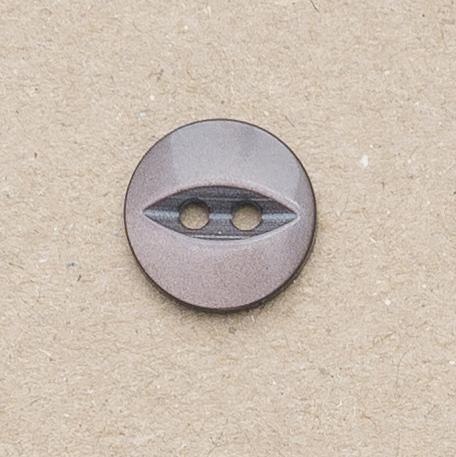 CP16-48 18mm Fish Eye Buttons -Dark Brown