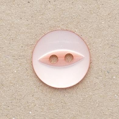 CP16-49 18mm Fish Eye Buttons -Peach